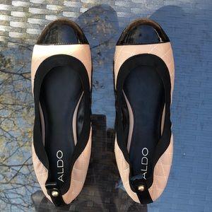 Aldos shoes.